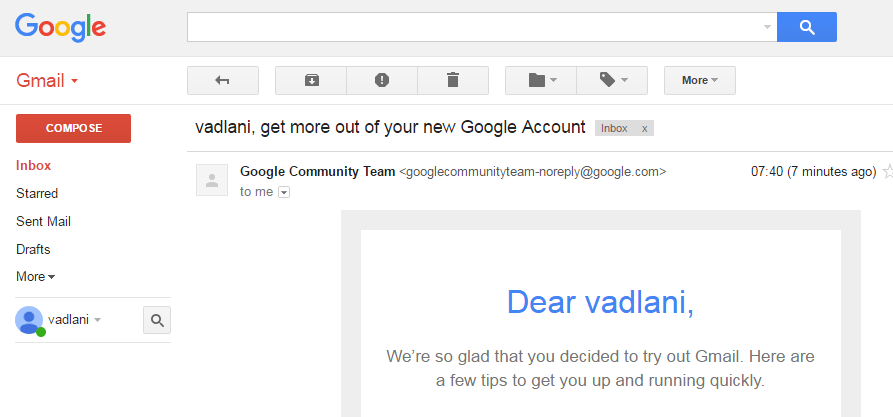 gmail account - 893×417