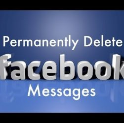 Delete facebook chart messages