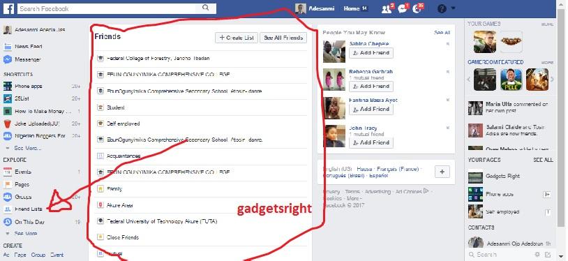 Facebooknews feed