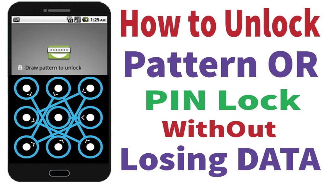 unlock android pattern lock
