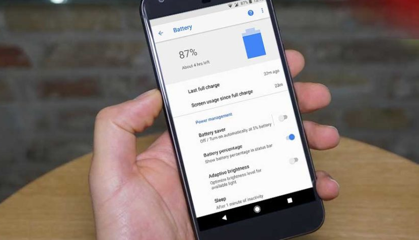 Battery Saver Mode in Android Oreo