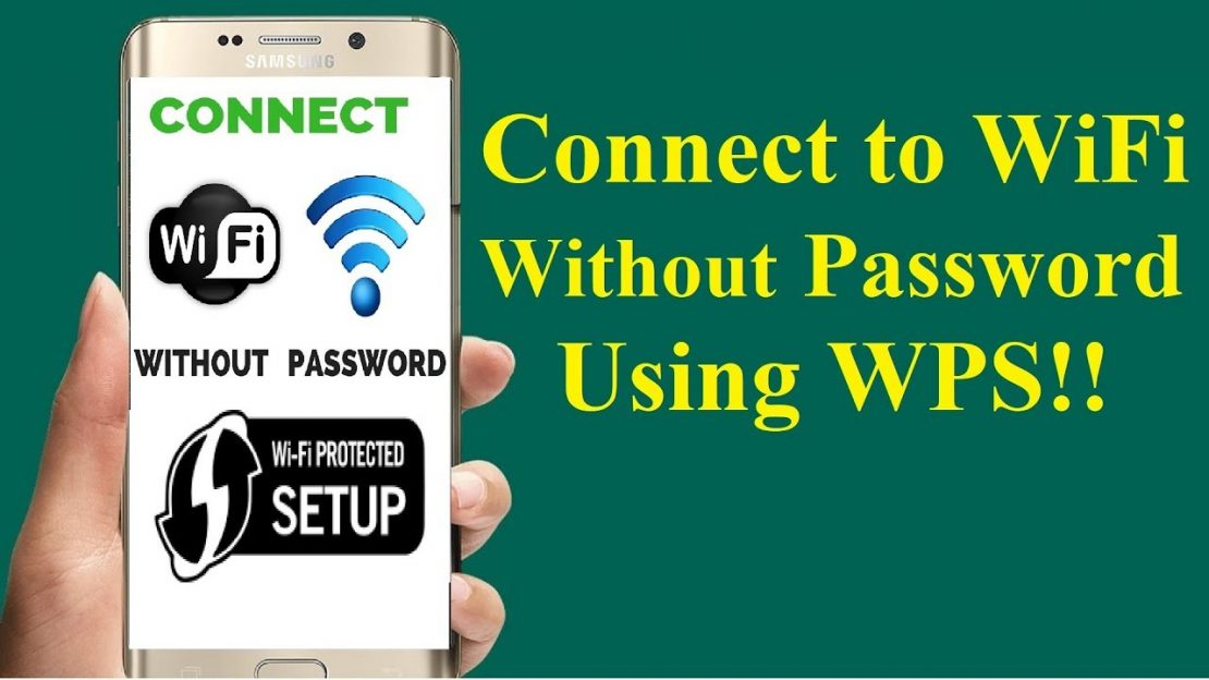 Connect To Locked WIFI Without Password