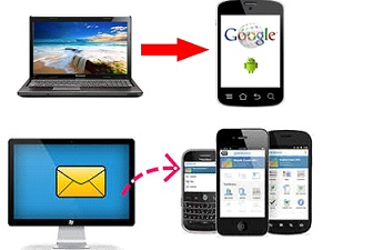 how to send text messages from laptop