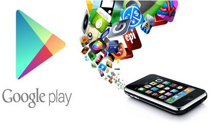 Download apps on Google Play Store