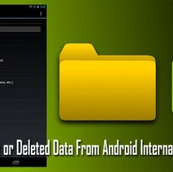 How to Recover Data From Android Internal Storage
