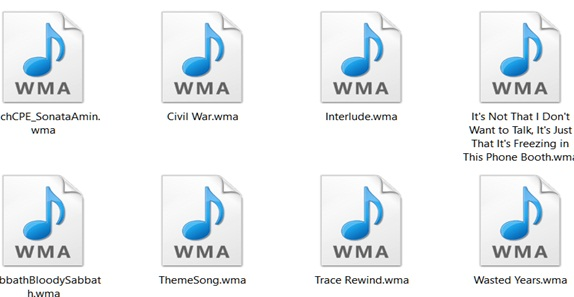 How to Open A Wma File
