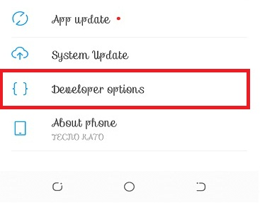 How to Enable Developer Mode on Tecno Phone