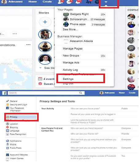 Block Strangers From Finding You in Facebook Search