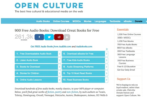 Best Site to Download Audiobooks For Free