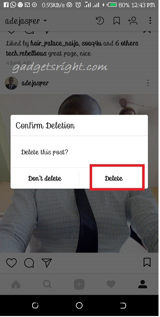 Delete Multiple Photos