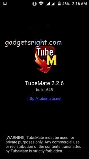 YouTube Videos with TubeMate