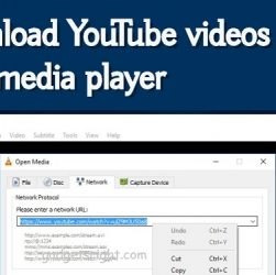 Download YouTube Videos Using VLC Media Player