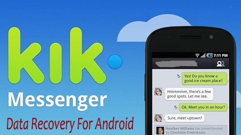 Recover Deleted Kik Messages/Photos