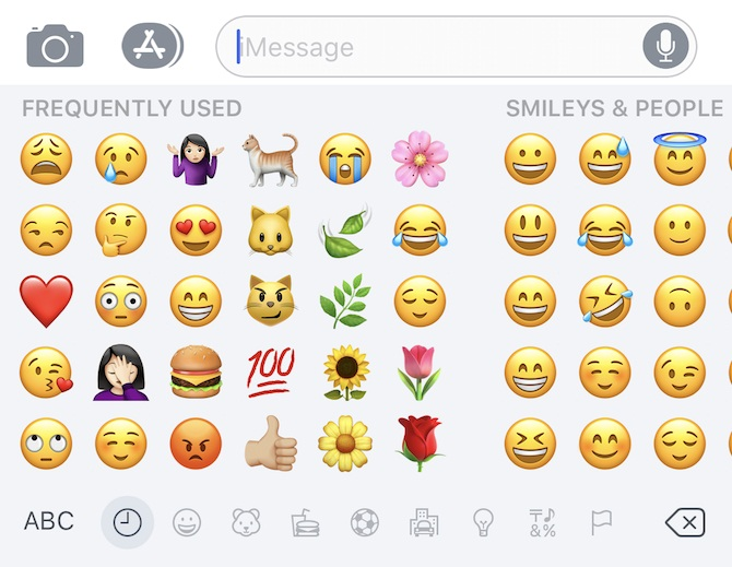Quickly Select Emoji