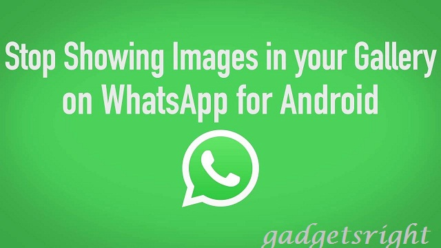 Block WhatsApp media