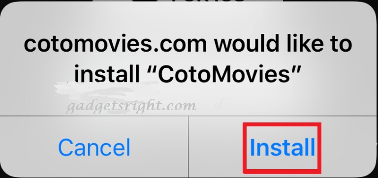 install-cotomovies-for-ios-direct step 2