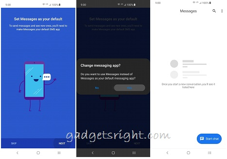 set Android Messages as Your Default SMS App