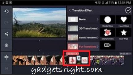 Edit Video on Android KineMaster