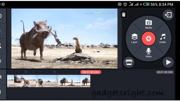 Edit Video on Android Using KineMaster