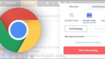 Record Video From Chrome Browser