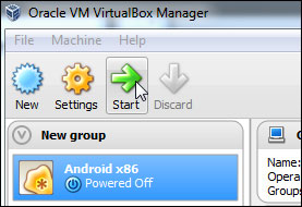 Androidemulator is an Android Virtual Device