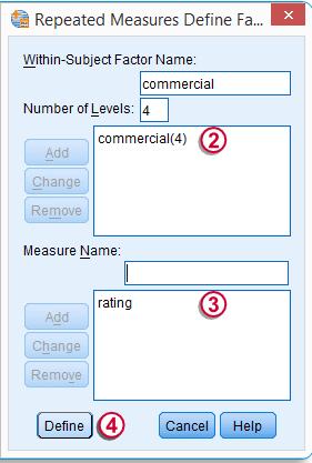 Repeated Measures ANOVA 111