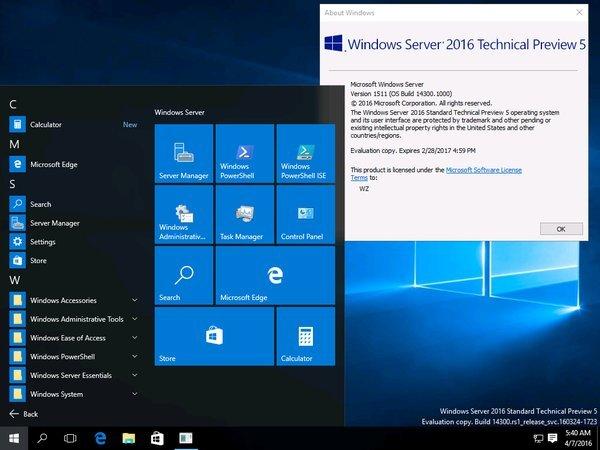 Windows Server OS