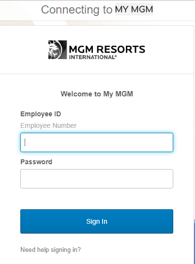 MLife Insider LOGIN Portal For Employee