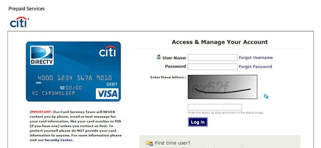 Citiprepaid Login and Register | login.wirecard.com