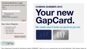 GAP Credit Card Login|Step by Step Guide Process