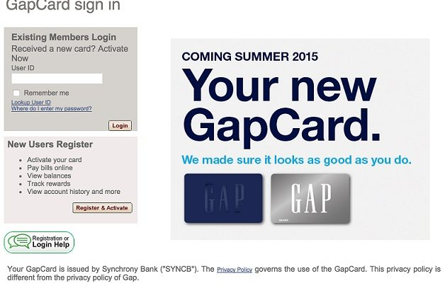 GAP Credit Card Login|Step by Step Guide Process