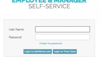eSelfserve Login | Online Service @ www.eselfserve.com