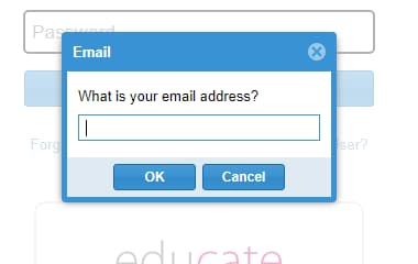 Process to Recover eMedley Password?