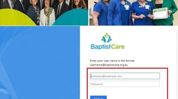 Baptist Care Employee Account Via employeeportal.baptistcare.org.au