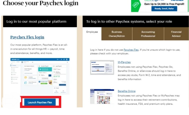 paychex login guide