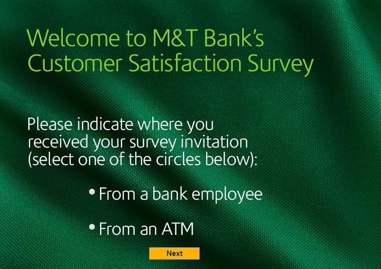 M&TBank Survey to Win $500 Cash Prize @ MandTBankSurvey