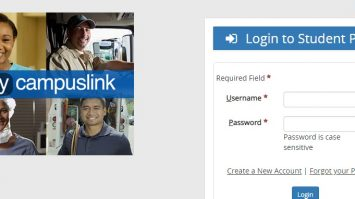 My Campus Link Student Portal Login at mycampuslink.com