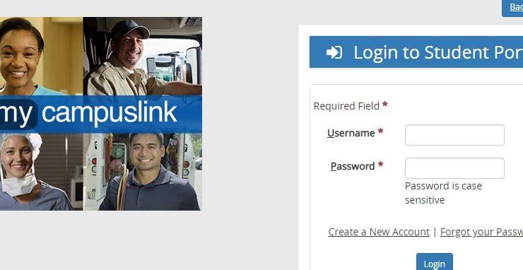 My Campus Link Student Portal Login at mycampuslink.com