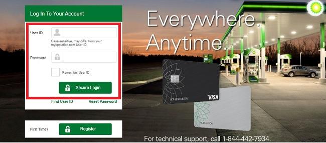 MyBPCreditCard : BP Visa Credit Card Login @ mybpcreditcard.com
