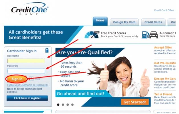 Credit One Account Services @ www.creditoneincrease.com
