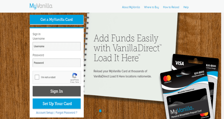 MyVanillaDebitCard Application, Activation, Benefits