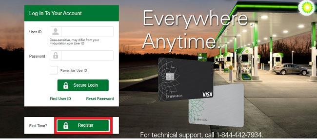 MyBPCreditCard : BP Visa CreditCard Login @ mybpcreditcard.com
