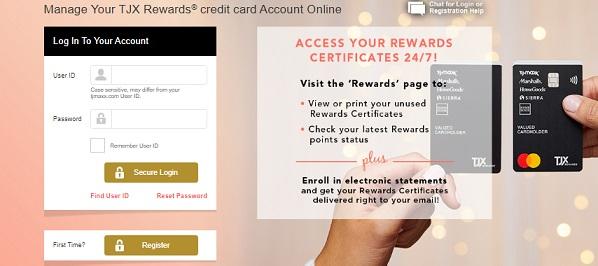TJ Maxx Credit Card Login, Payment Options and Customer Service