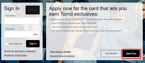 Torrid Insider Credit Card Login, Review, Benefits