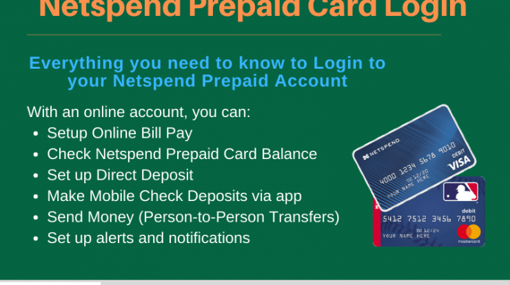 Complete guide on Netspend Visa Prepaid Card, Login guide