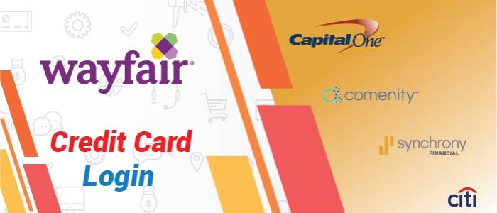 Wayfair Credit Card Login and Wayfair Payment Options