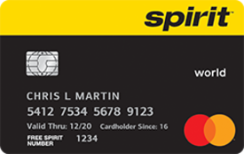 Spirit Airline Credit Card Payment Login