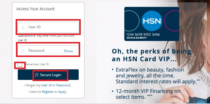 HSN Credit Card Login Guide, Review
