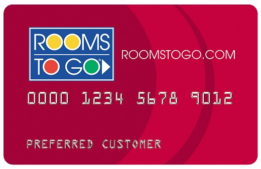 Rooms To Go Credit Card Login, Application