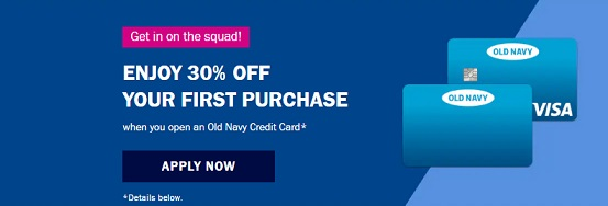 Old Navy Card Application, Login and Payment Methods